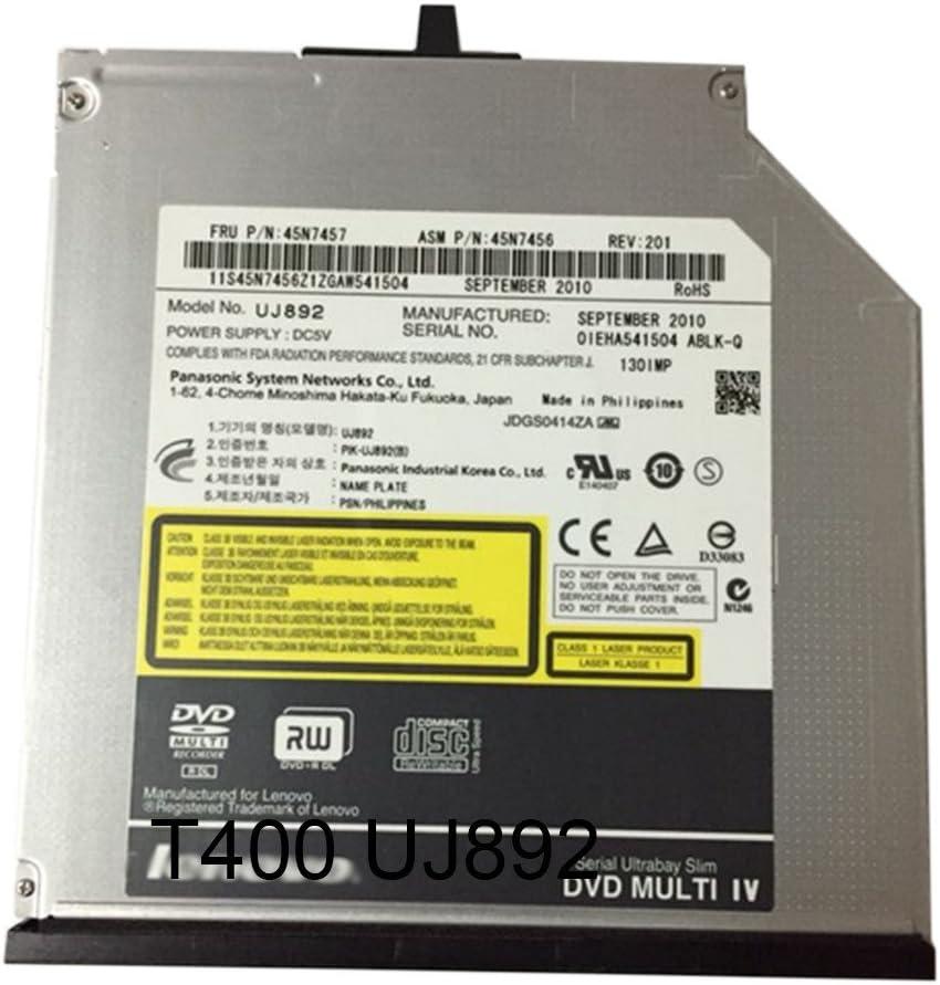 Slim SATA Internal Optical Drives DVDRW UJ892 For Thinkpad T400 T410i T410S/T420S/T430S 45N7459/45N7457