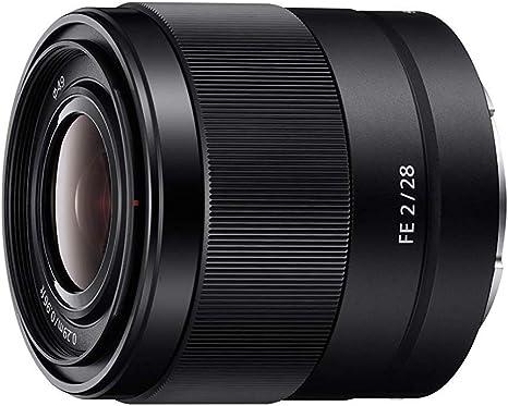 Sony FE 28 mm f/2 - Objetivo Gran Angular de Montura Tipo E ...