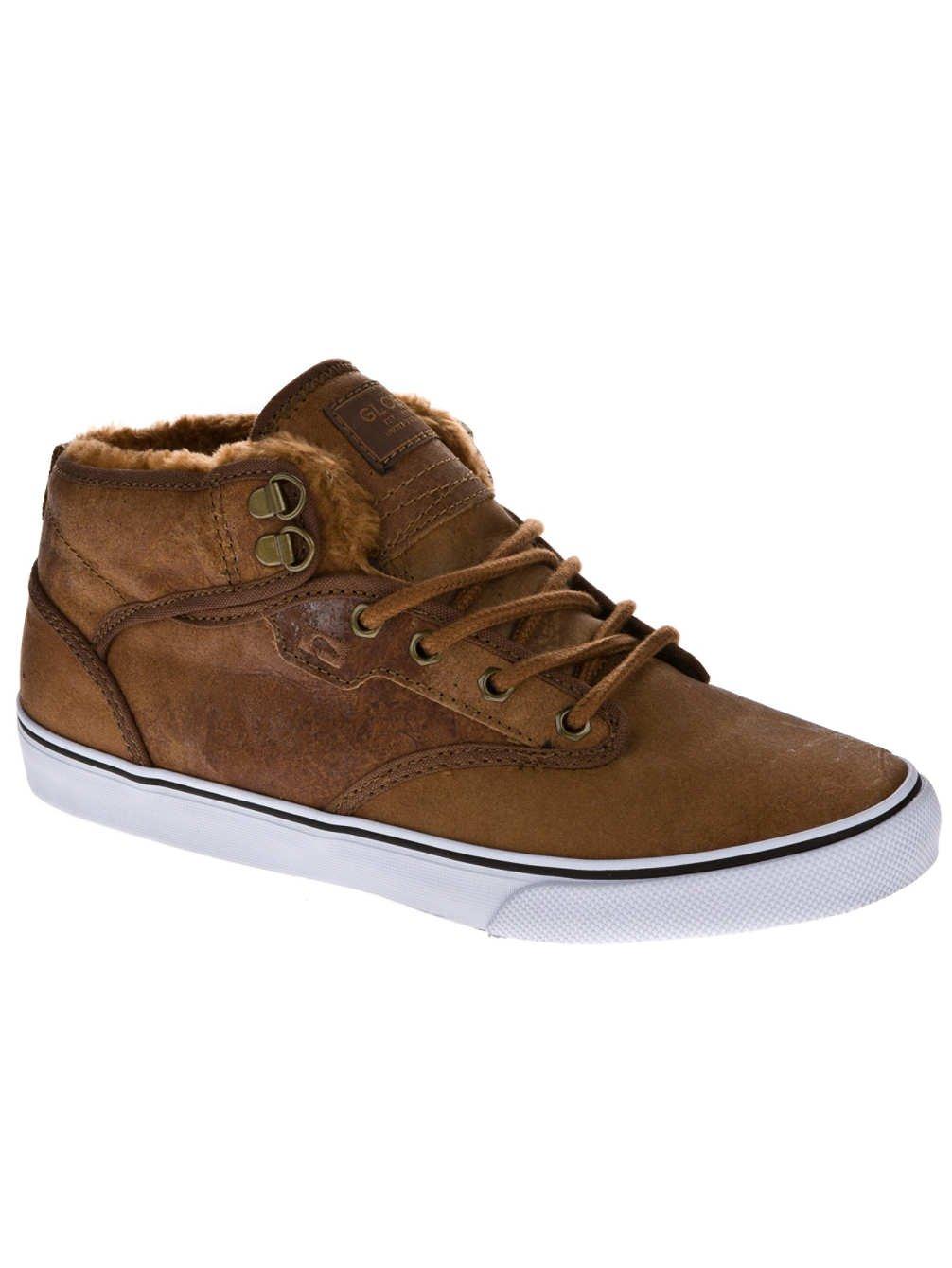 Globe Motley mid GBMOTLEYM - Zapatillas de cuero unisex 40 EU|Distressed Brown 16217