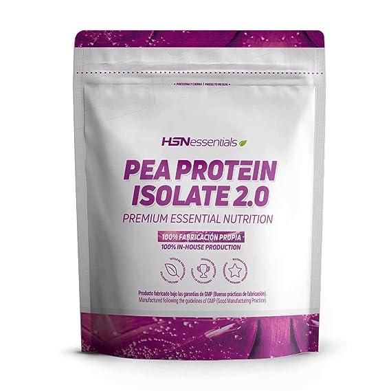 Proteína de Guisante Aislada de HSN Essentials | Pea Protein Isolate | Para Veganos | Vegan Protein (84% Proteína) | Edulcorada con Estevia | Sin ...