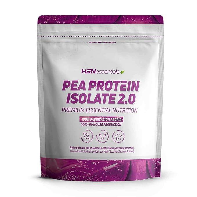 Proteína de Guisante Aislada de HSN Essentials | Pea Protein Isolate | Para Veganos | Vegan ...