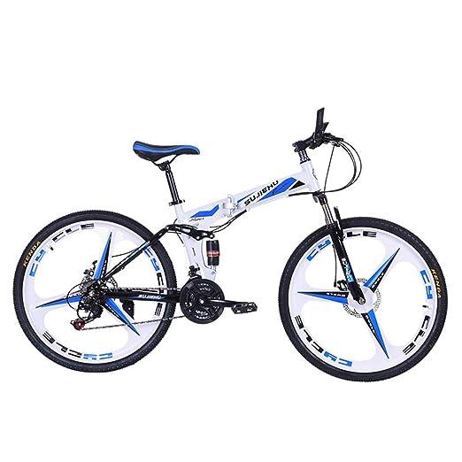 Dapang Bicicleta de montaña, Bicicleta Plegable de 26 Pulgadas con ...