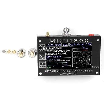 Analizador de redes vectoriales de 0.1-1300Mhz, Analizador de ...
