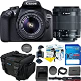 Canon EOS 1300D / T6 EF-S 18-55mm 18.7MP CMOS 5184 x 3456 Pixels (Black) + Deal-Expo Basic Accessories Bundle