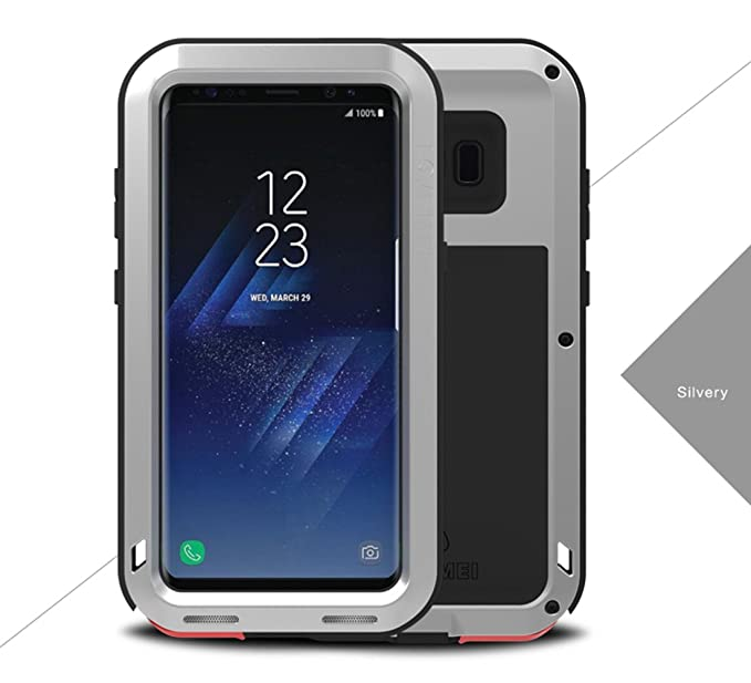 low cost 4e1e4 f2efb LoveMei For Galaxy S8 Plus Case, Newest Aluminum Extreme Shockproof Weather  Dust/Dirt Proof Resistant Case With Military Heavy Duty Armor Case Shell ...