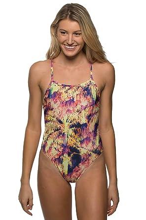 0ef503c493c Women JOLYN Womens Tie-Back Jackson 4 One-Piece Swimsuit