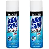 Andis Cool Care Plus For Blades 15.5 Ounce Aerosol (458ml) (2 Pack)