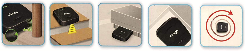 Vileda VR 100 Robot Aspirador, Antracita, 32 x 28 x 9 cm: Amazon.es: Hogar