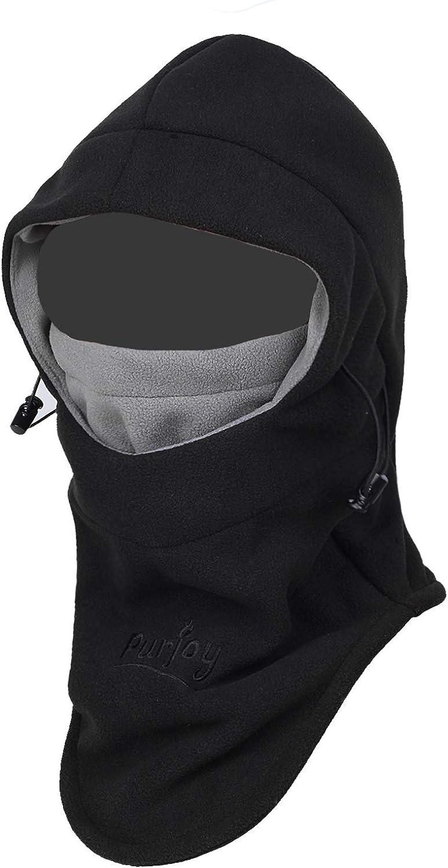 Full Face Balaclava Fleece Warm Biker Bicycle Cycling Neck Warmer Scarf Hat Cap