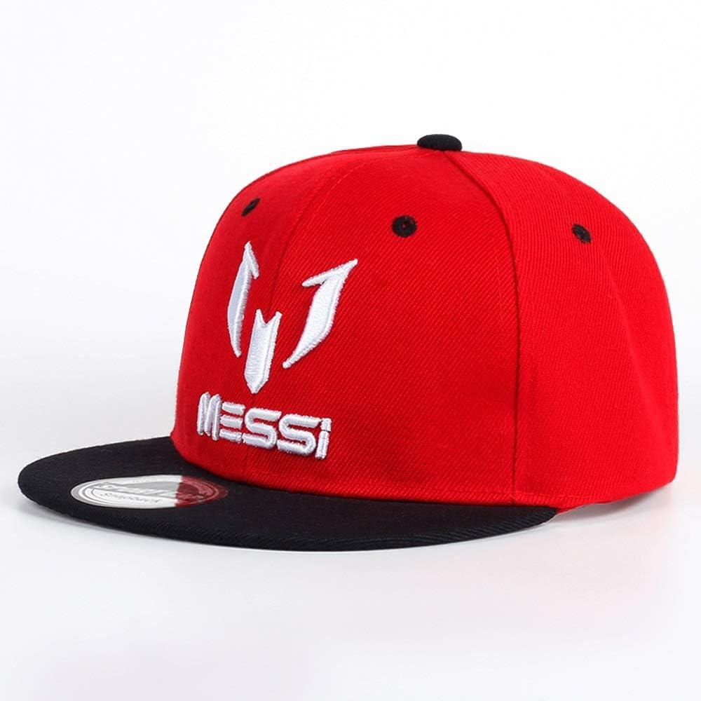 Color : Black VIIMON 2019 Argentina Football Messi Baseball Caps Boys Girls Kids Children Adjust Soccer Messi Snapback Hip Hop Hat