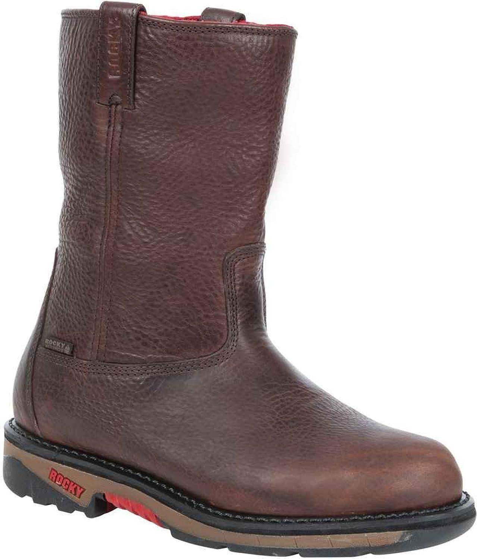 """Rocky Men's 10"""" Ride Waterproof Wellington Boots"""