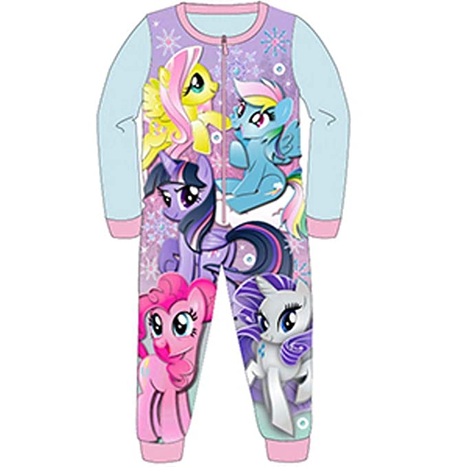 Amazon.com  Girls All in One Piece Nightwear Style My Little Pony ... 462541a3c