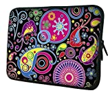 "WATERFLY Colorful Paisley 14"" 14.4"" Laptop Case Notebook Sleeve for Women Girl Man Boy Lenovo ThinkPad X1 Dell Inspiron Lenovo YOGA ASUS Razer Blade 2016 HP Pavilion ProBook ENVY ACER Dell Vostro"