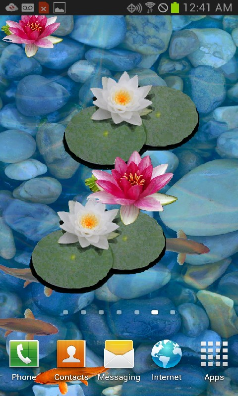 Amazon 3D Koi Pond Live Wallpaper Appstore For Android