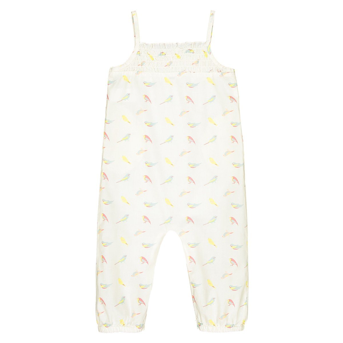 La Redoute Collections Big Girls Printed All-in-One,1 Month-3 Years