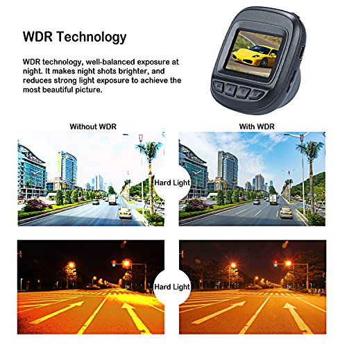 Dash-Cam-by-Fliiners-Mini-LCD-Car-Dvr-Camera-Recorder-with-FHD-1080P-Night-Vision-Loop-Recording-for-Cars