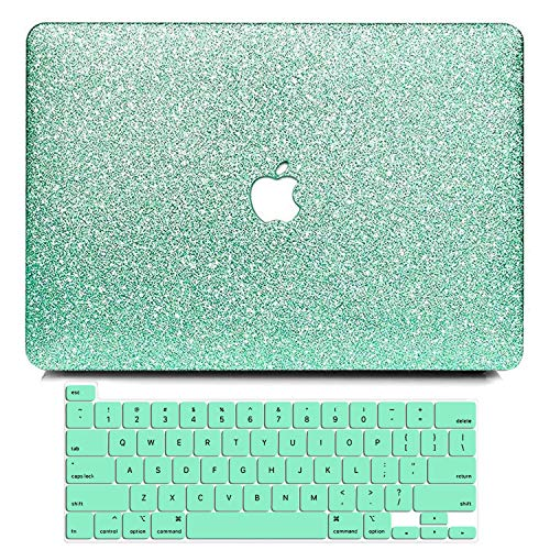 B BELK MacBook Pro 16 Inch Case 2019 Release A2141, Bling Crystal Smooth Ultra-Slim Light Weight PC Hard Case with Keyboard Cover for MacBook Pro 16'' with Touch Bar and Touch ID