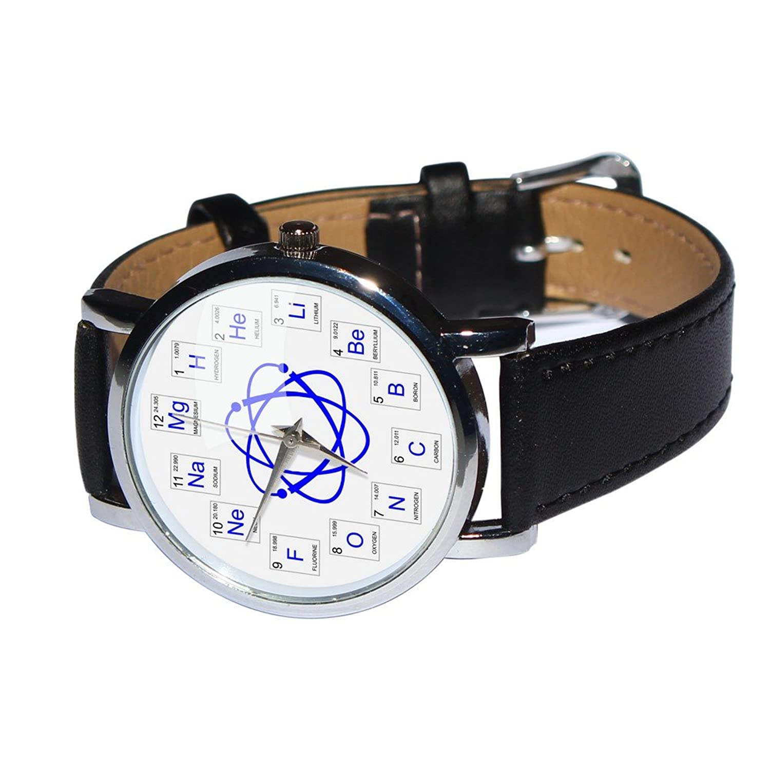 Amazon atomic elements watch showing chemical elements from the amazon atomic elements watch showing chemical elements from the periodic table genuine leather strap watches urtaz Images