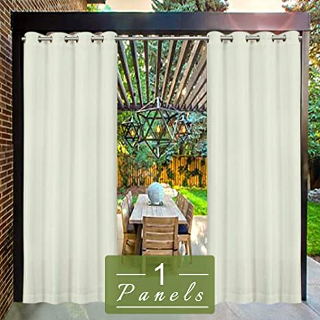 Amazon Com Hgmart Outdoor Curtain Privacy Drape Grommets For Patio