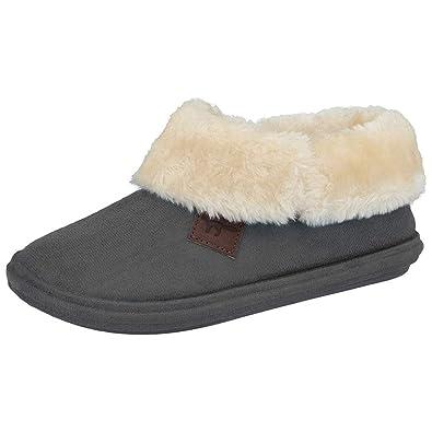 2d6eb518902a Jo   Joe Chiltern Women s Fur Lined Fur Collar Slipper Boot - Cognac