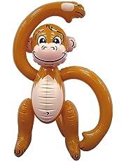 MunchieMoosKids 07487 Inflatable Monkey 24 inch Brown