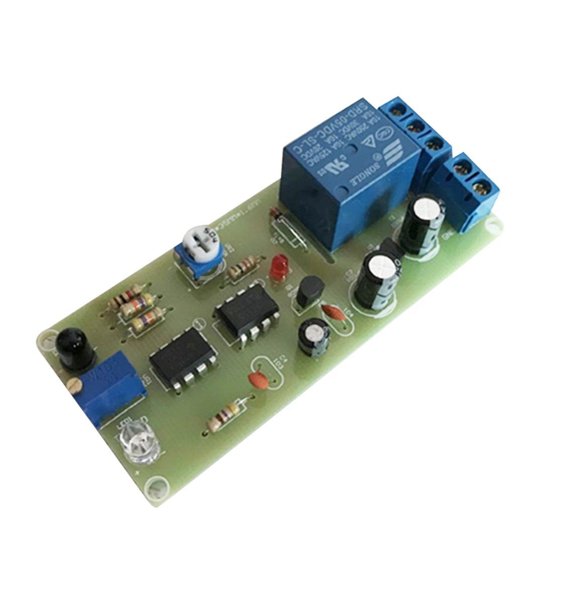 Hand Dryer Infrared Sensor Switch Assembled Kit DIY Automatic Faucet Control Module 12V PCB Board