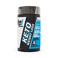 BPI Sports Keto Weight Loss - Ketogenic Fat Burner - Keto Weight Loss Pills - Raspberry ketones - Supports Mental Focus - Promotes Endurance - Burn Fat for Fuel - 75 Capsules