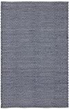 Safavieh Boston Collection BOS685D Handmade Navy Cotton Area Rug (5' x 8')