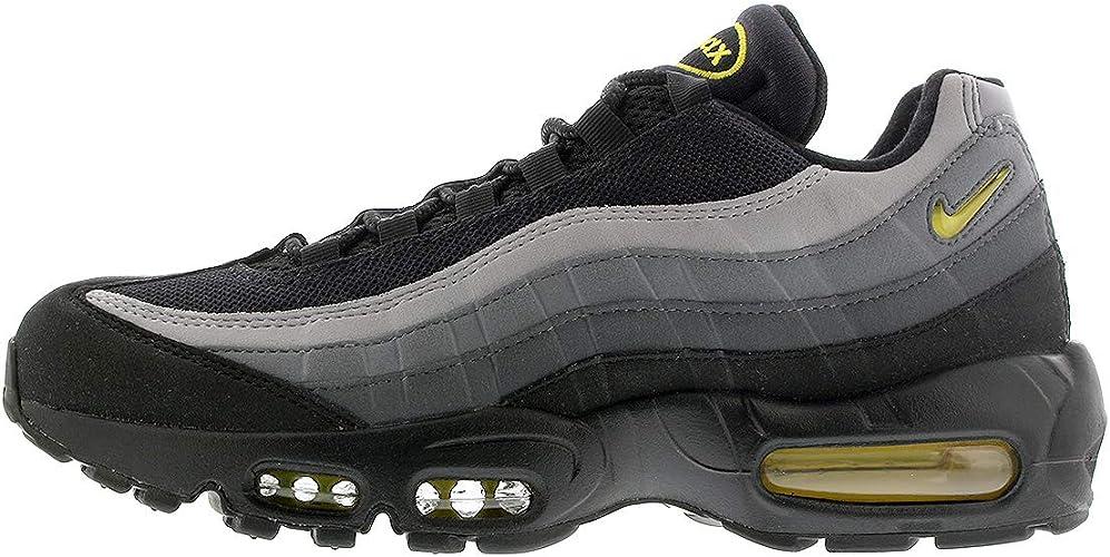 black and yellow 95 air max