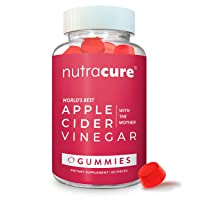 Apple Cider Vinegar Gummies - Raw, Organic, Unfiltered ACV with The Mother - More...