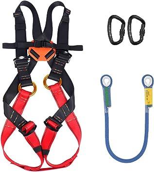 SSCYHT Kit de arnés de Escalada para niños Cinturón de ...