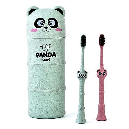 Tandou 1 Juego Blando Cepillo Dientes Infantil Cuidado Bucal Dental, 3-12 años (