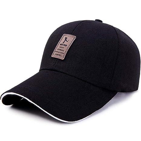 5f5558ace Amazon.com : WY-Tong Sunhat Men's and Women's Baseball Caps Casual ...