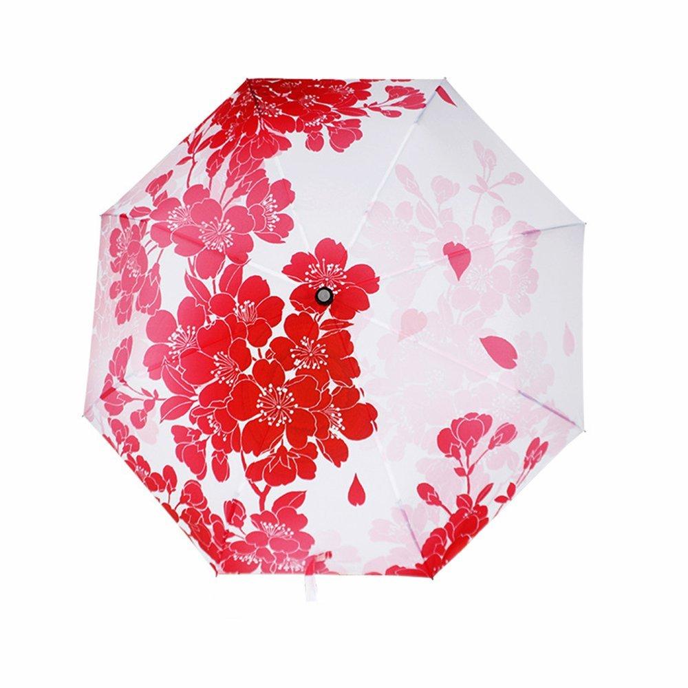 MyLifeUNIT Cherry Blossom Parapluie compact, japonais Sakura Parapluie pliable GA16L166