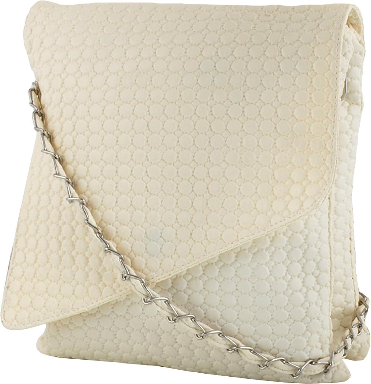 Savera Girls Sling Bag (White,Se-031): Amazon.in: Clothing ...
