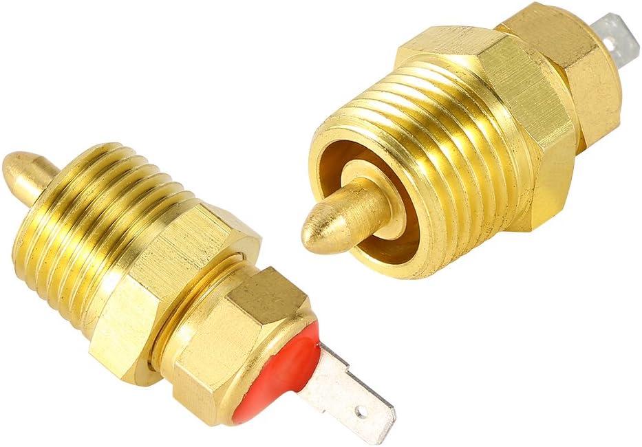 or Capteur de temp/érature du thermostat de thermostat de moteur /électrique avec filetage de tuyau de 3//8 inch Commutateur de temp/érature du ventilateur de ventilateur /électrique 185 175