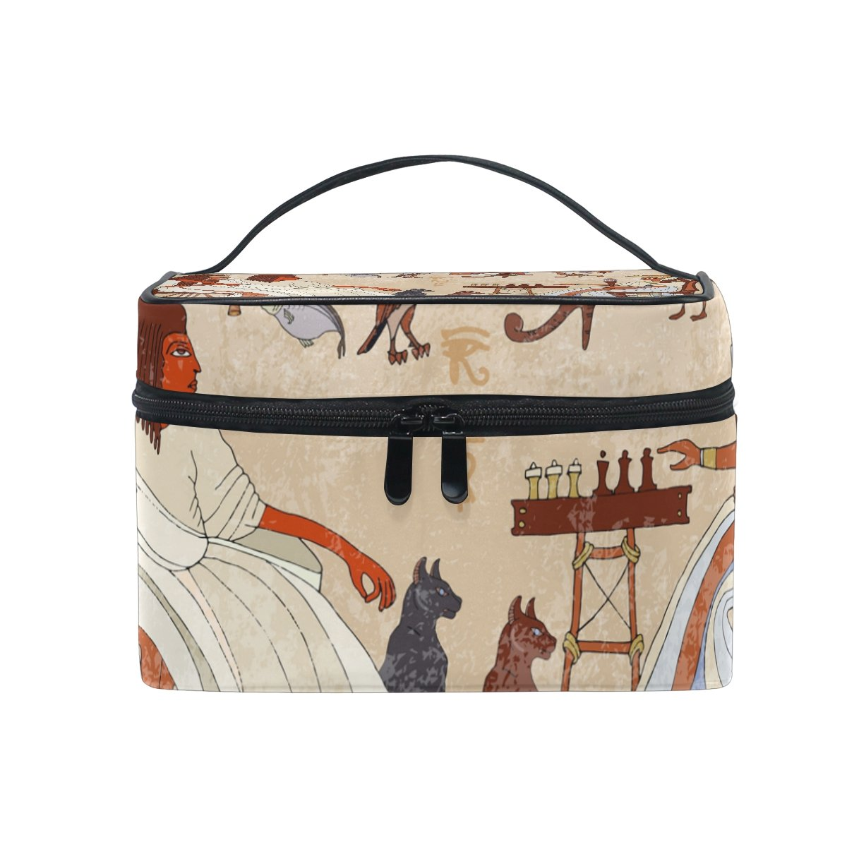 Amazon Com Cosmetic Bags Ancient Egypt Egyptian Character Large