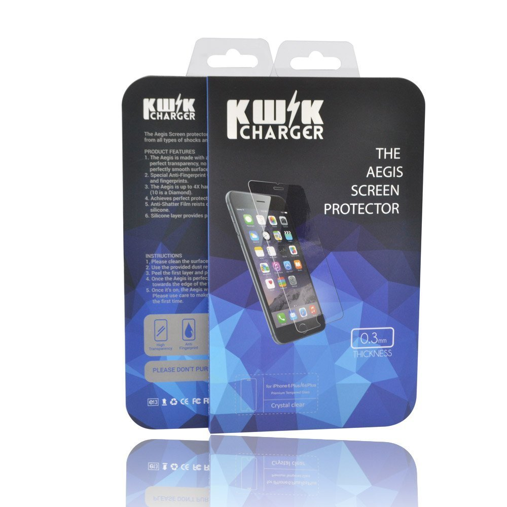 online store 9f850 ba640 The Aegis Screen Protector - Make Your Phone Unbreakable (iPhone 6s ...