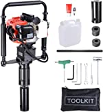 Yescom 2 Stroke 32.7cc Gas Powered T Post Driver Gasoline Piling