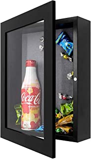 product image for Shadow Box Frame Display Case, 2-inch Depth, Great for Collages, Collections, Mementos (8x10.5, Black)