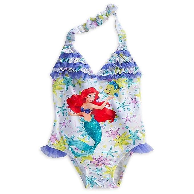 Disney Ariel Tienda De Girl Traje Sirenita Little La Princess 4RLSj5Aqc3