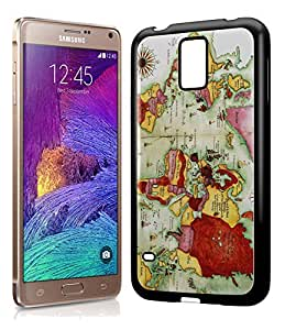Vintage Atlas Old World Map Phone Case Cover Designs for Samsung Galaxy Note 4