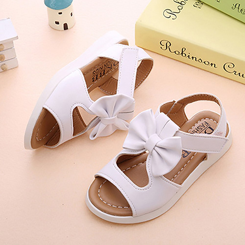 Girl Princess Shoes Bow Hollow Beach Shoes Anti-Slip Baby Sandals