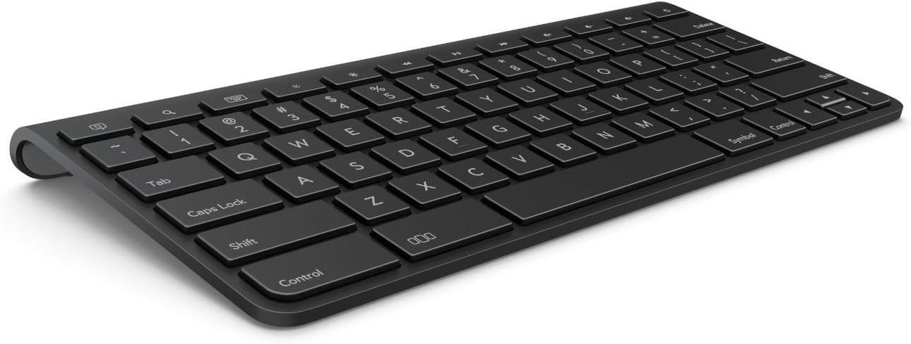 HP TouchPad Bluetooth Wireless Keyboard FB344AA#AC3 for HP 9.7'' Touchpad Tablet:FB355UA#ABA,FB359UA#ABA,FB355UAR#ABA,FB359UAR#ABA,FB356UT#ABA,FB359UA#AB,FB356UA#ABA,FB401UA#ABA-OEM Bulk Packing
