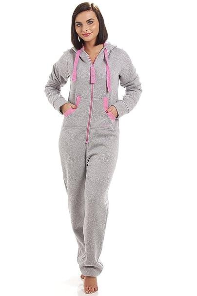 Camille - Pijama de una pieza - para mujer Gris gris 38