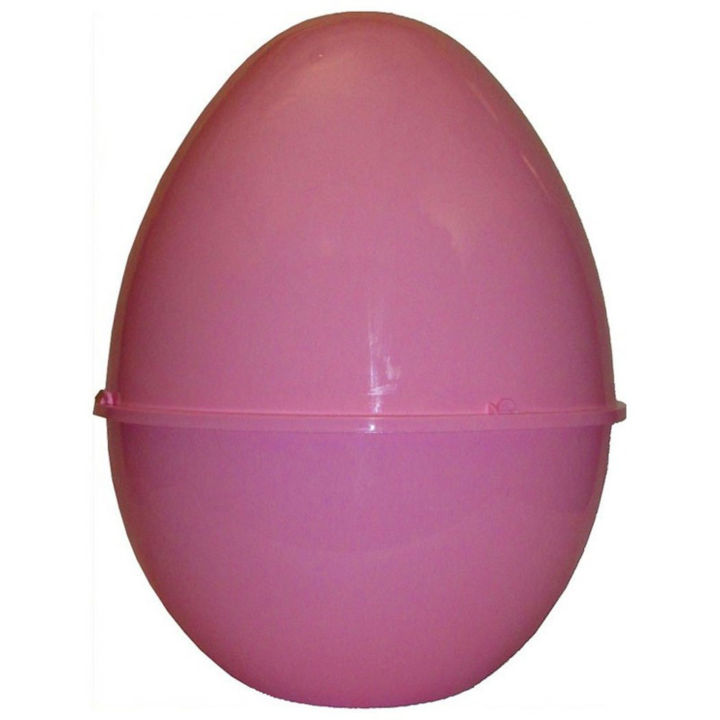 Uovo di Pasqua in Plastica Contenitore Guscio Vuoto Rosa Unogiochi