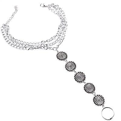 Hosaire Chaîne de Cheville Bracelet Femmes Nouveauté Style Mode Chaîne Bijoux Plage de Cheville Chaîne