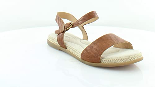 f9b559fd6bf8 Born Womens Welch Leather Espadrille Flat Sandals Brown 6 Medium (B