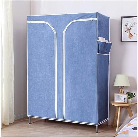 UltraTimeEmpty Armario Armario ropero portátil Closet Armario combinación Dormitorio Muebles Almacenamiento 117 * 45 * 175 CM: Amazon.es: Hogar