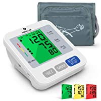 Blood Pressure Monitor for Upper Arm with Audio Reading, PANACARE 3.4'' Large Screen...